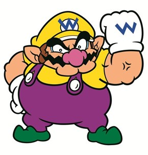 That's Why Wario Doesn't Close His Mouth