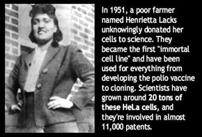 Lets Hear it for Henrietta Lacks