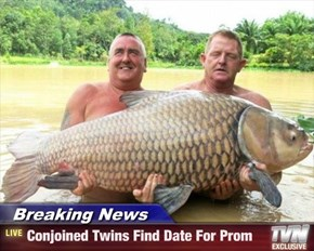 Breaking News - Conjoined Twins Find Date For Prom