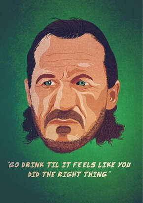 Bronn Gives the Best Advice