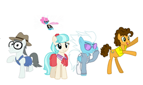 The New Mane 6. 5/6 the way there
