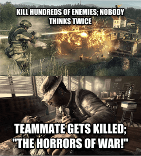 First Person Shooter Campaign Logic