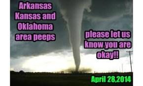 Arkansas Kansas and Oklahoma area peeps