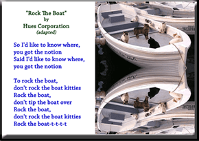 """Rock The Boat"" by Hues Corporation (Adapted)"