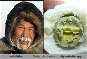 inuit Eskimo Totally Looks Like My hardboiled egg