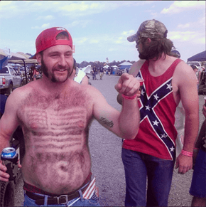 What's More American That Copious Amount of Body Hair?