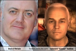 "Dara O'Briain Totally Looks Like Edward ""Caesar"" Sallow"