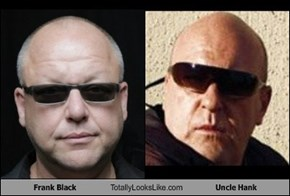 Frank Black Totally Looks Like Uncle Hank