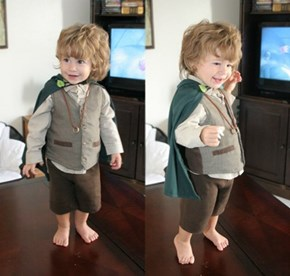 Kids Make The Adorablest Hobbits