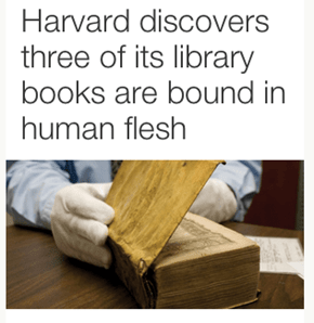 Harvard Found the Necronomicon