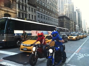 On Their Way Back to Sesame Street