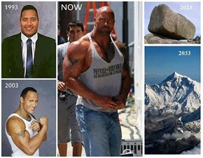 The Evolution of The Rock