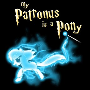 Expecto Ponytrum: The Harry Potter/MLP T-Shirt
