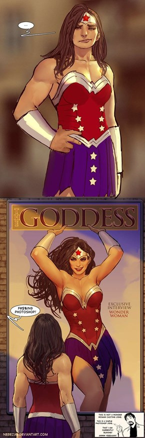 Wonder Woman Fights Pop Culture Body Image