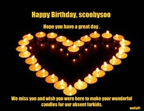 Happy Birthday, scoobysoo