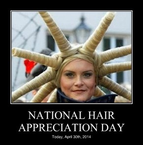 NATIONAL HAIR APPRECIATION DAY