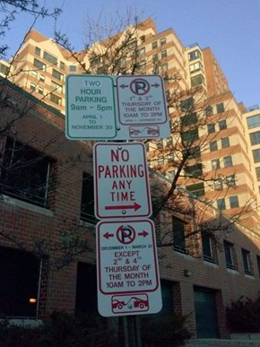 Park, or Don't Park? Choose Wisely.