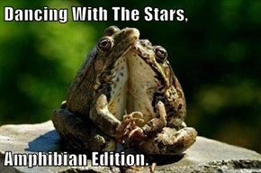 Dancing With The Stars,  Amphibian Edition.