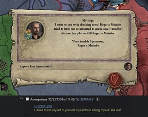 The Life of a Humble Spymaster