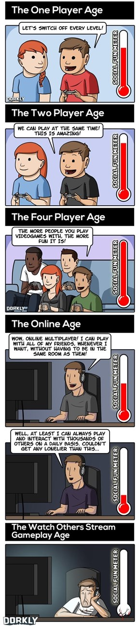 The Ages of Multiplayer