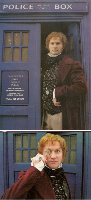 Mark Gatiss As His Very Own Doctor