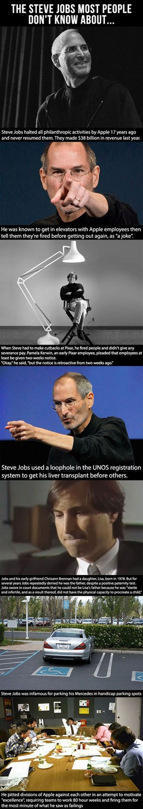 Steve Jobs Was Actually a Massive Douche