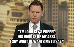 Patrick Gower - National's Puppet.
