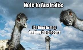 Note to Australia: