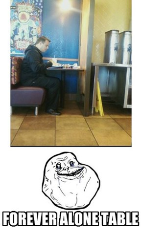 Forever Alone Table