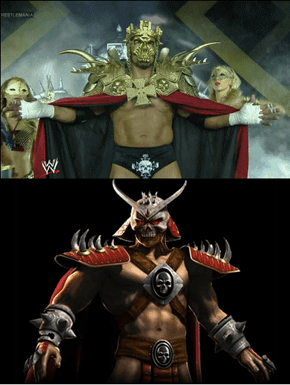 Shao Kahn Was at Wrestlemania