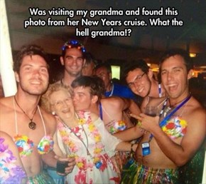 That Awkward Moment When Grandma Has a Cooler Spring Break Than You