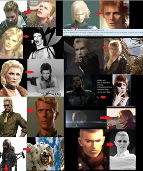 David Bowie is Every Character in Metal Gear Solid
