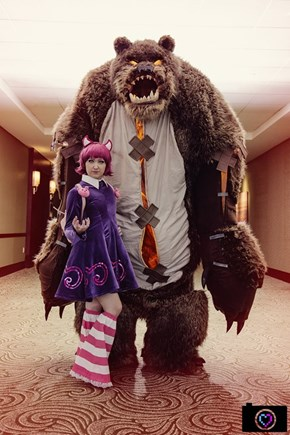 Annie and Tibbers Part Cute, Part Terrifying