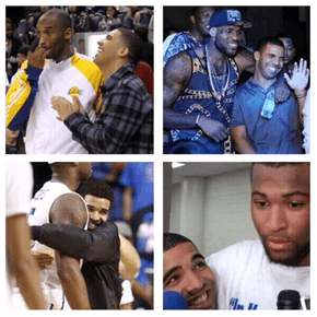Drake Looks Like the Proudest Girlfriend