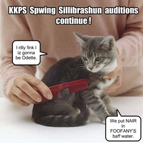KKPS: Things are heating up. The claws are out.