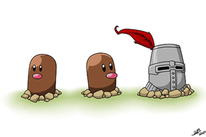 Diglett Wednesday: Praise the Sun!
