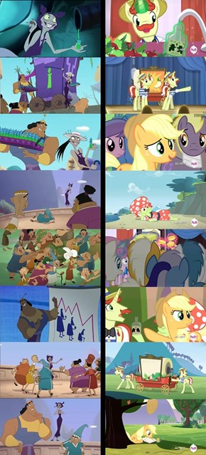 Applejack's New Groove