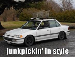 junkpickin' in style