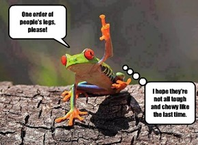 If frogs ran restaurants