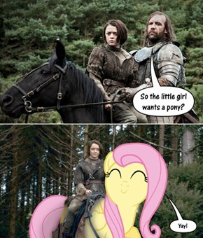 Arya Gets a Pony
