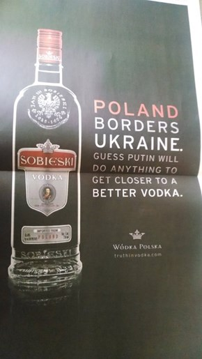 Well Played, Polish Vodka