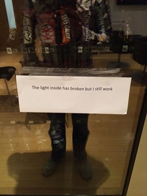 This Vending Machine is a Metaphor for Most of Us