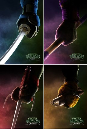 New Ninja Turtles Posters Are Too Minimalist
