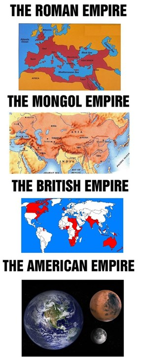 Biggest Empire, You Say?