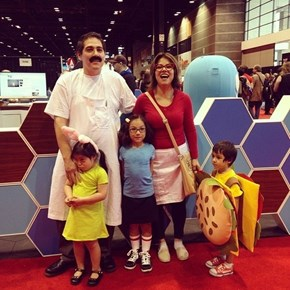 Sometimes Cosplay is a Family Affair