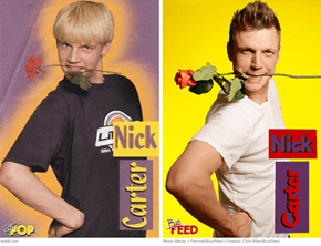 Nick Carter and Jordan Knight Recreate Their Absurd Teen Magazine Photos