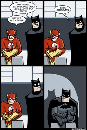 The Flash Know Adidas' Tricks