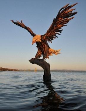Great Driftwood Art or Greatest Driftwood Art?