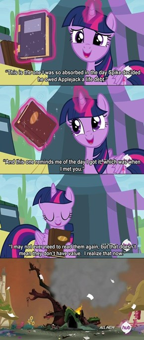 It breaks twilight sparkle more than you know it