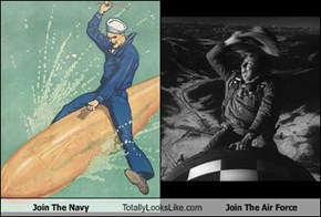 Join The Navy Totally Looks Like Join The Air Force